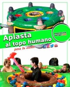 Aplasta al topo humano