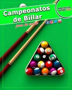 Campeonatos de Billar