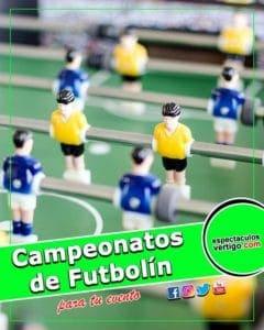 Campeonatos de Futbolin