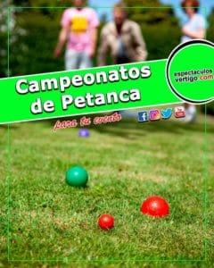 Campeonatos de Petanca