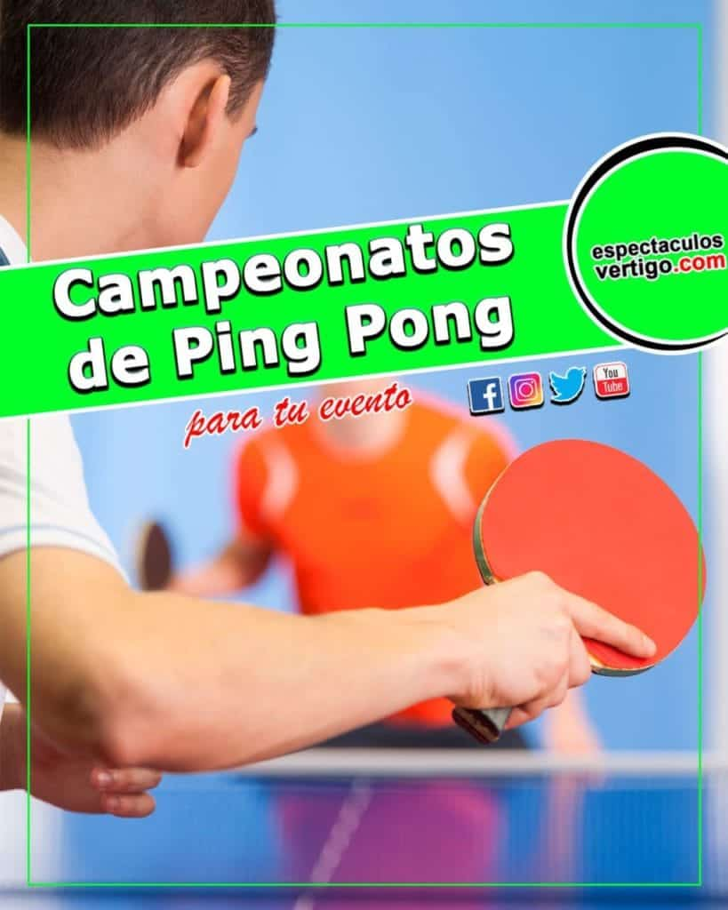 Campeonatos de Ping Pong