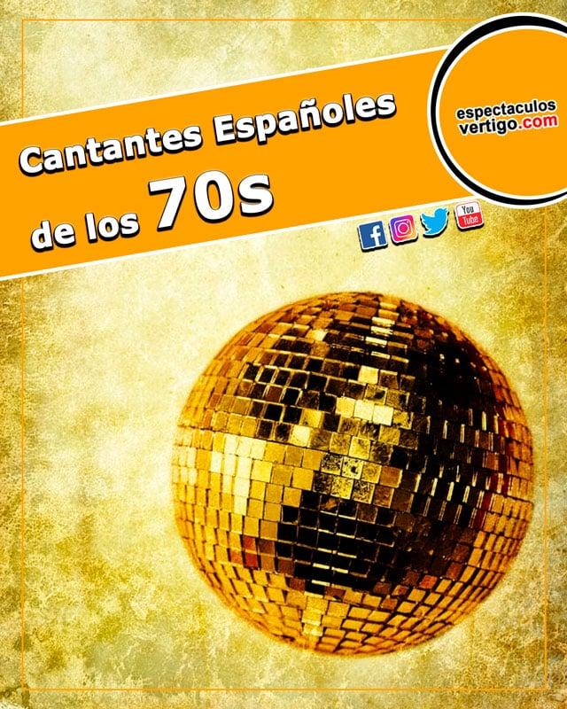 Cantantes espanoles de los años 70
