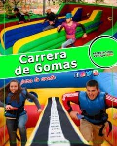 Carrera de Gomas