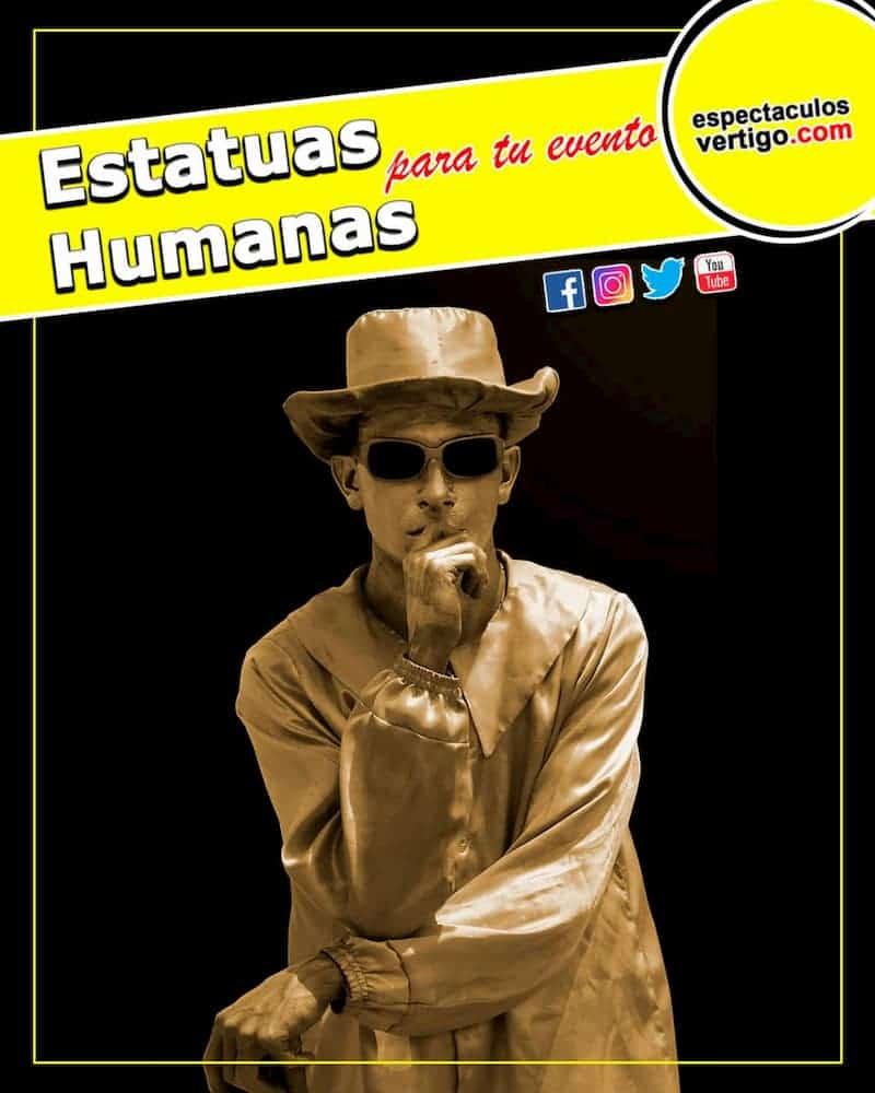 Estatuas-Humanas