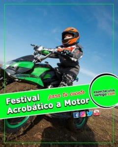 Festival Acrobático a motor