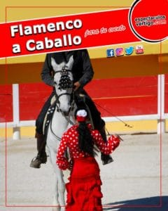 Flamenco a caballo para Fiestas y Eventos