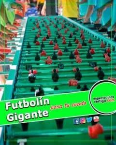 Futbolin Gigante