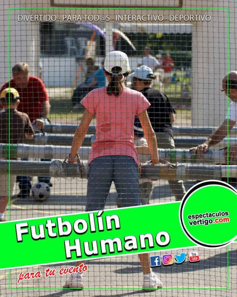 Futbolin Humano
