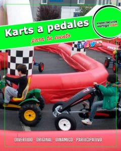 Karts a pedales