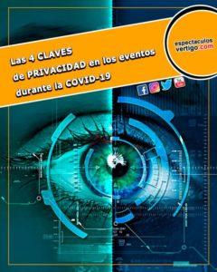 Las 4 claves de privacidad en los eventos durante la COVID-19