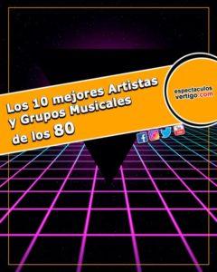 Los 10 mejores artistas y grupos musicales de los 80