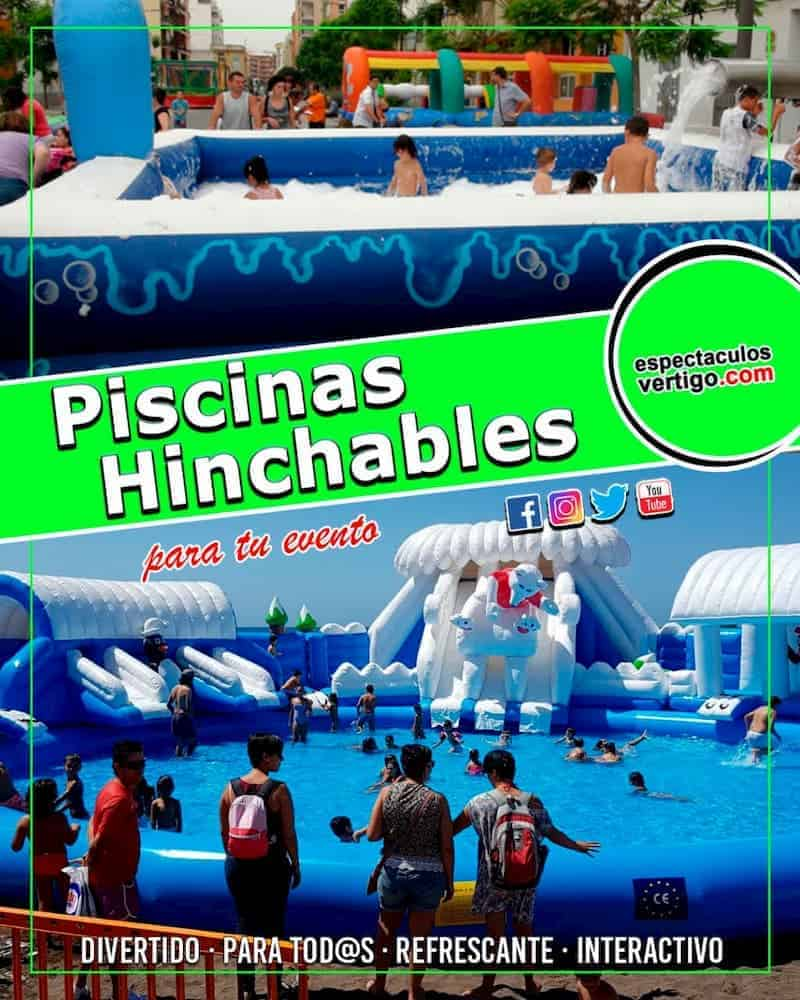 Piscinas Hinchables