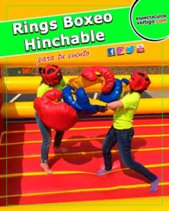 Ring Boxeo Hinchable