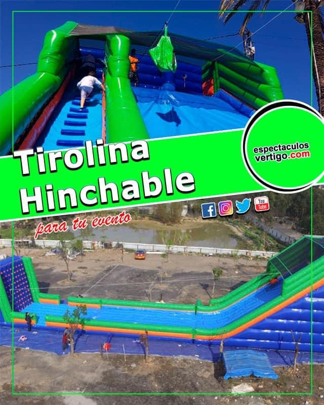 Tirolina-hinchable