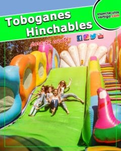 Toboganes Hinchables Terrestres