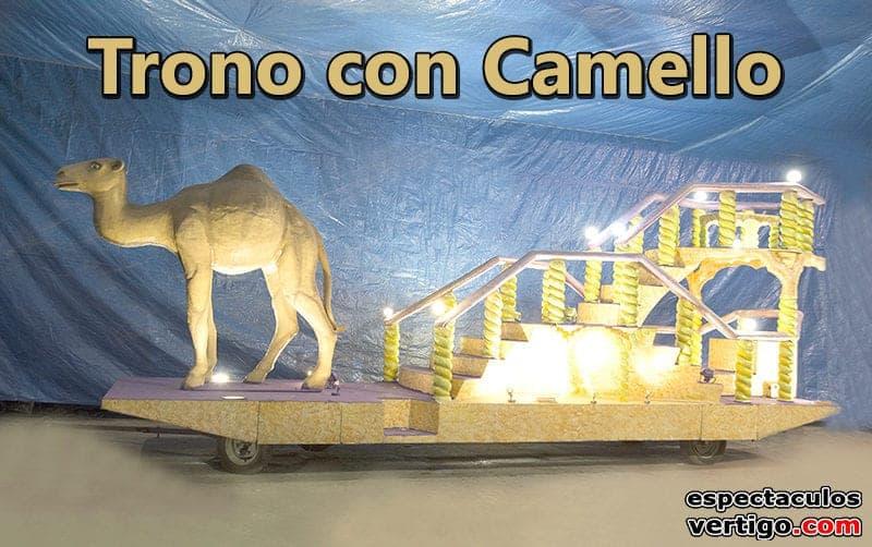 Trono-con-camello