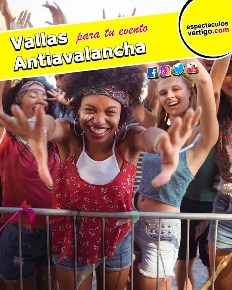 Vallas AntiAvalancha