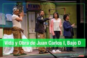 Vida y Obra de Juan Carlos I bajo D